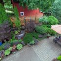 Backyard landscape sanctuary